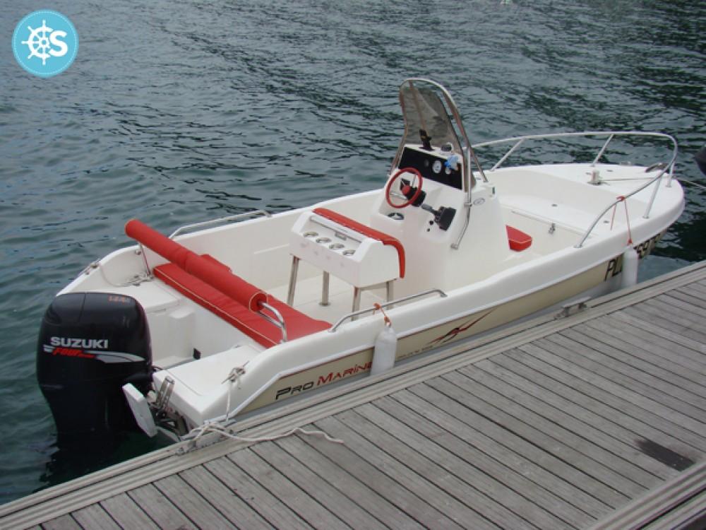 Motorboot mieten in La Trinité-sur-Mer - Pro Marine Belone 550 Open