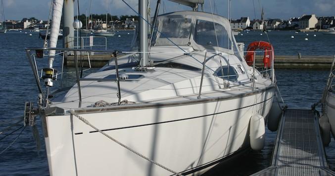 Bootsverleih Kirie Feeling 32 Loctudy Samboat