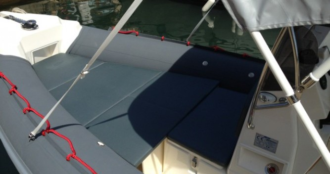 Vermietung Schlauchboot Joker Boat mit Führerschein