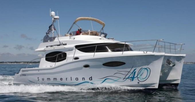 Motorboot mit oder ohne Skipper Fountaine Pajot mieten in La Trinité-sur-Mer
