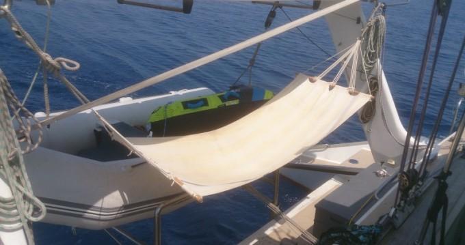 Bootsverleih Martinique günstig plan carof lazzy 54