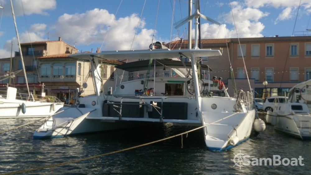 Yacht-Charter in Martinique - Chantier-Du-Lez plan carof lazzy 54 auf SamBoat