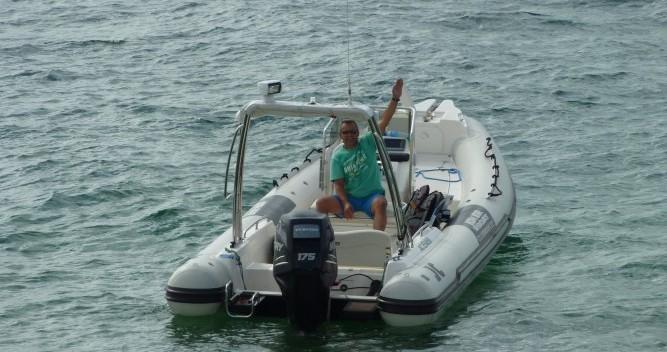 Schlauchboot mieten in Arcachon - Joker Boat Clubman 22
