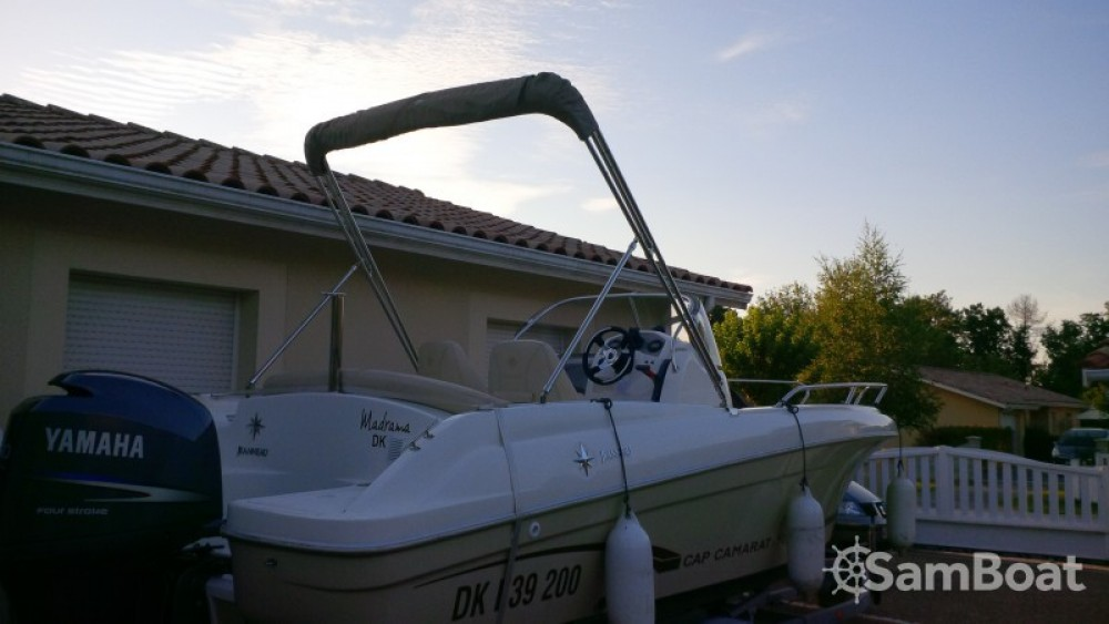Motorboot mieten in Andernos-les-Bains - Jeanneau Cap Camarat 635 Style