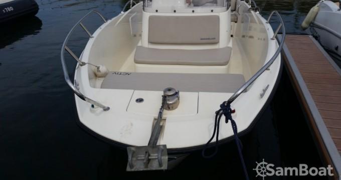 Motorboot mieten in Parentis-en-Born - Quicksilver Activ 675 Open