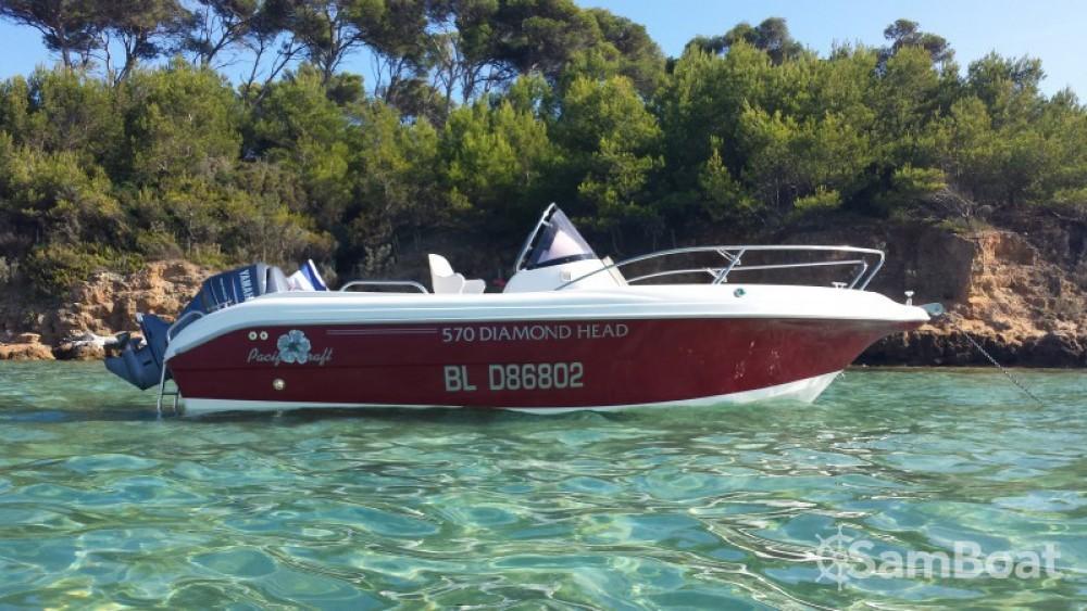 Bootsverleih La Ciotat günstig Pacific craft 570 Diamond Head