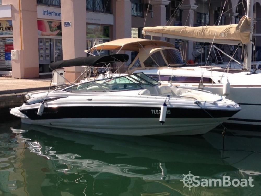 Motorboot mit oder ohne Skipper Crownline mieten in Fréjus
