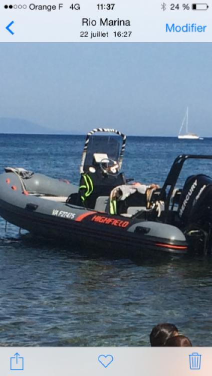 Schlauchboot mit oder ohne Skipper Highfield mieten in Saint-Malo