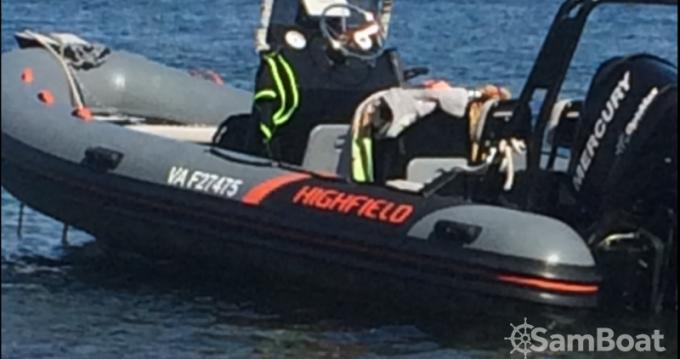 Ein Highfield Ocean Master 540 mieten in Saint-Malo