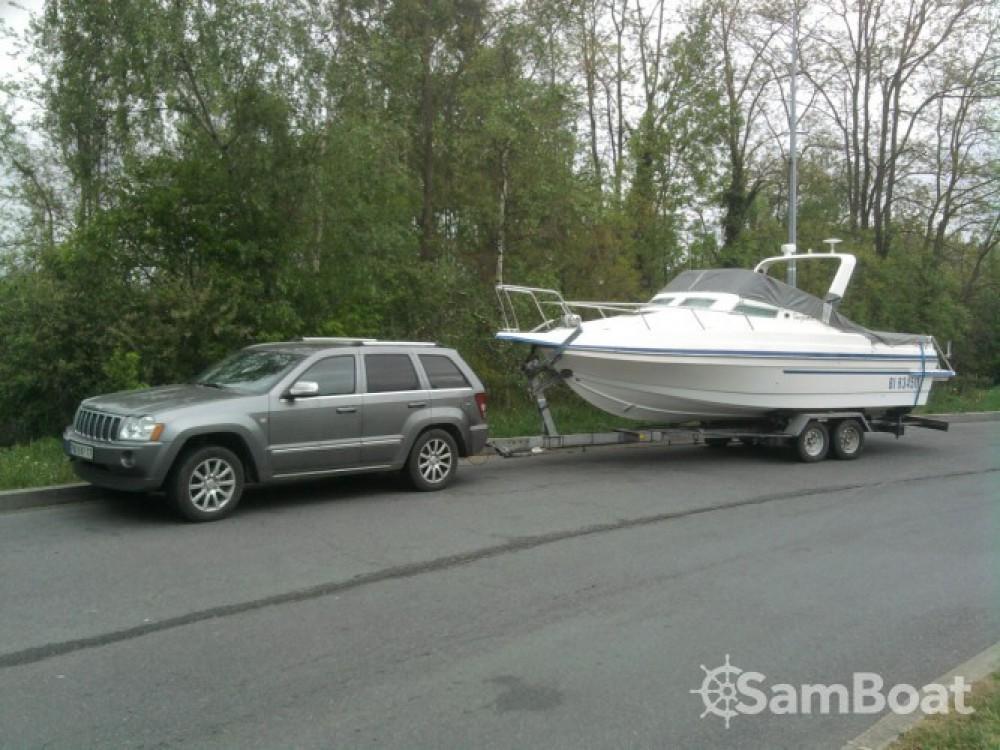 Vermietung Motorboot Rocca mit Führerschein