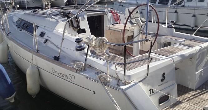Bootsverleih Toulon günstig Oceanis 37