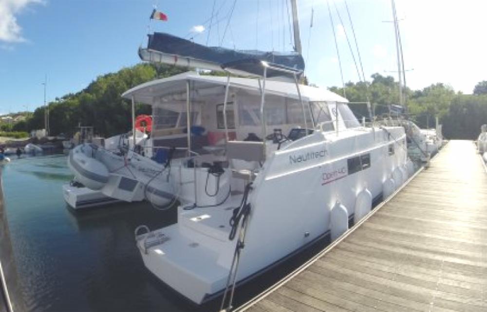Nautitech Open 40 zwischen Privatpersonen und professionellem Anbieter Martinique