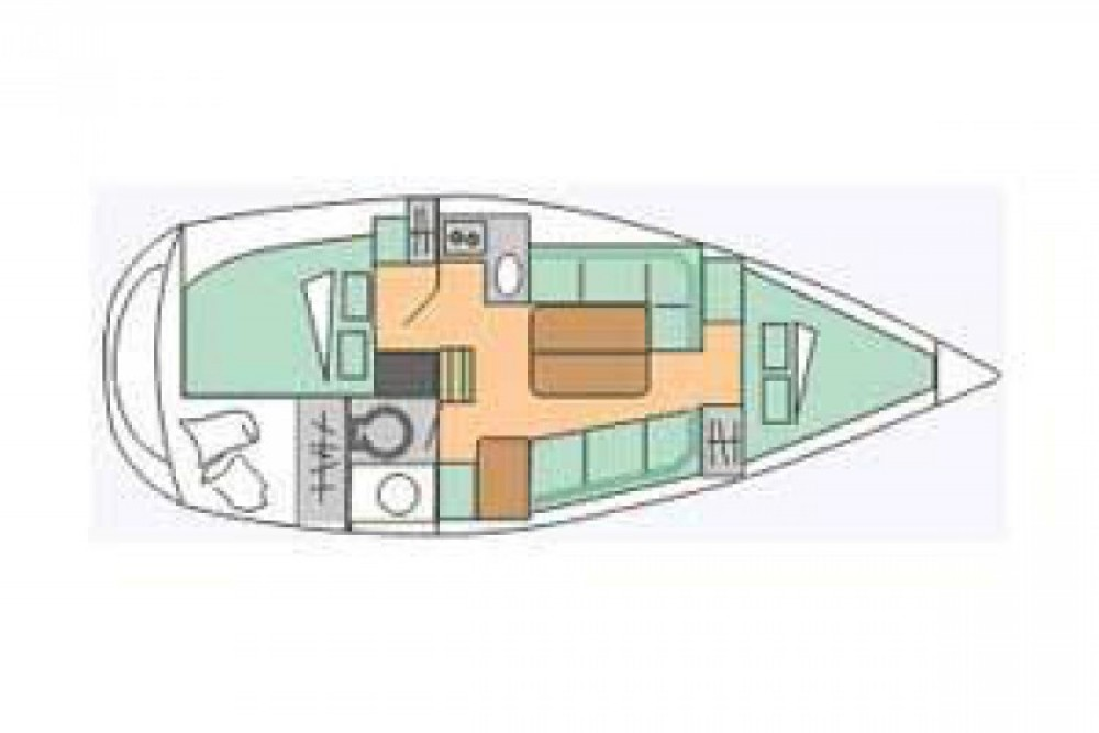 Segelboot mit oder ohne Skipper Gibert Marine mieten in Flamanville
