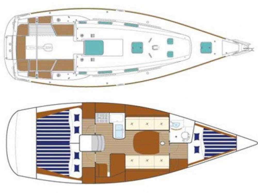 Segelboot mieten in Tréauville - Bénéteau First 36.7