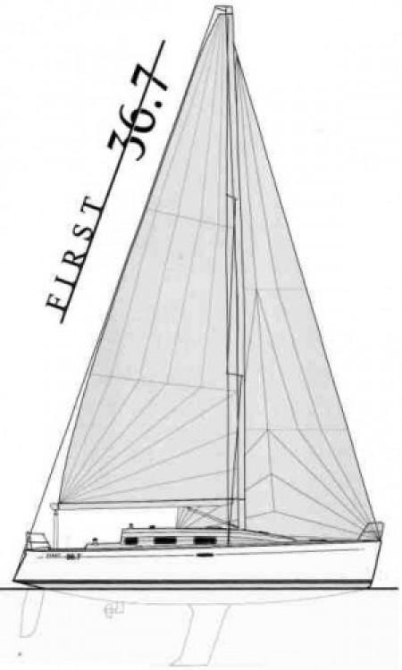 Segelboot mieten in Port Diélette - Bénéteau First 36.7