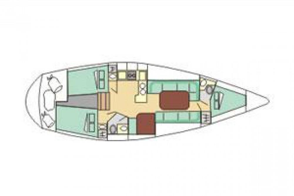 Segelboot mieten in Tréauville zum besten Preis