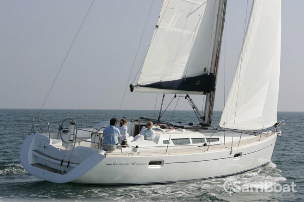 Bootsverleih Martinique günstig Sun Odyssey 42i