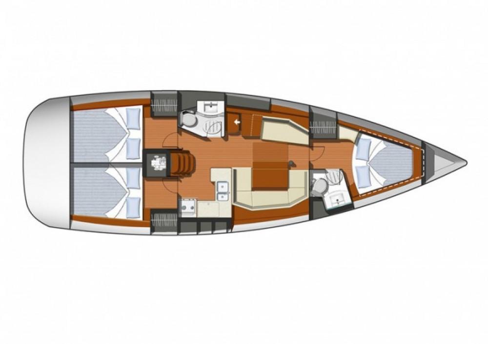 Yacht-Charter in Martinique - Jeanneau Sun Odyssey 42i auf SamBoat