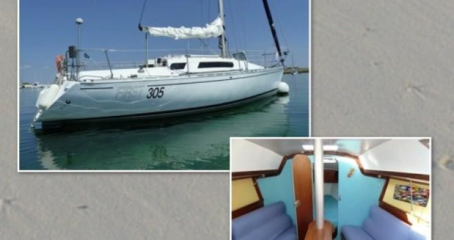 Segelboot mieten in Île-Tudy - Bénéteau First 305