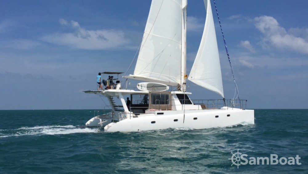 Ein Catamaran-Jade One off 52' mieten in Galle