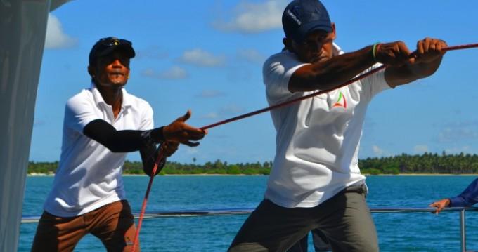 Vermietung Katamaran Catamaran-Jade mit Führerschein