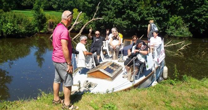 Vermietung Hausboot Fox-And-Sons mit Führerschein