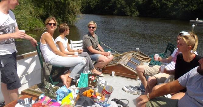 Hausboot mieten in Nantes - Fox-And-Sons gentleman launch