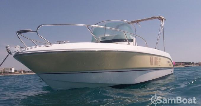 Sessa Marine Key Largo 22 Deck zwischen Privatpersonen und professionellem Anbieter Le Grau-d'Agde