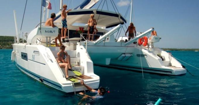 Ein Catana Catana 50 Ocean Class mieten in Marigot