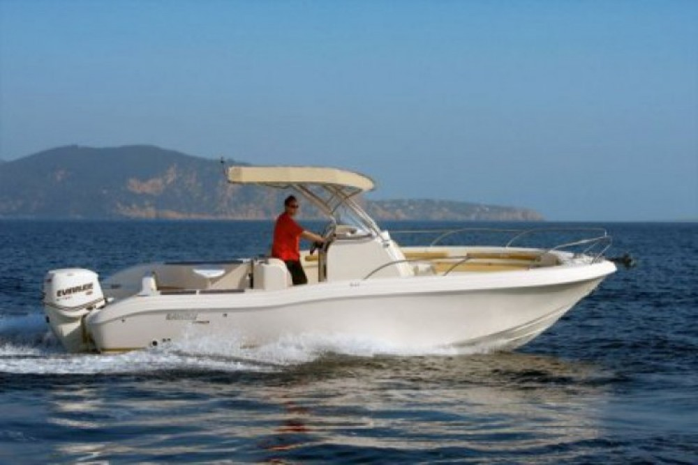 Motorboot mieten in Nizza - Ranieri 26