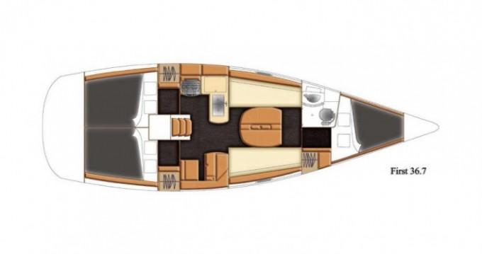 Segelboot mit oder ohne Skipper Bénéteau mieten in La Trinité-sur-Mer