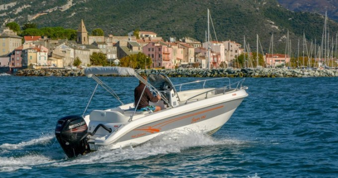 Bootsverleih Salmeri Syros 190 Saint-Florent Samboat