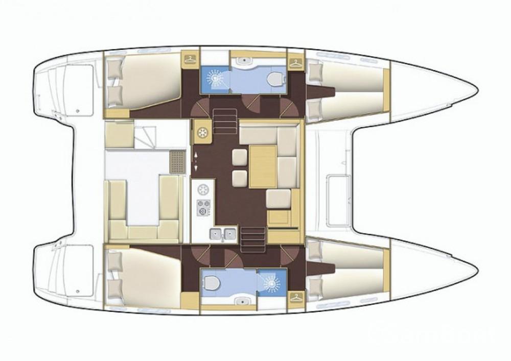 Katamaran mit oder ohne Skipper Lagoon mieten in Propriano