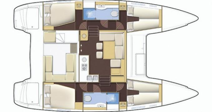 Bootsverleih Lagoon Lagoon 400 S2 Propriano Samboat