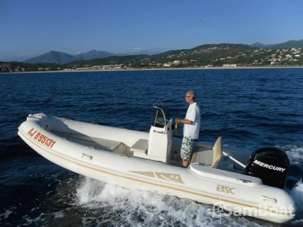 Schlauchboot mieten in Ajaccio zum besten Preis