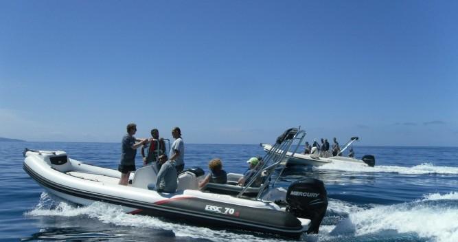 Schlauchboot mieten in Ajaccio - Bsc BSC 70 Sport