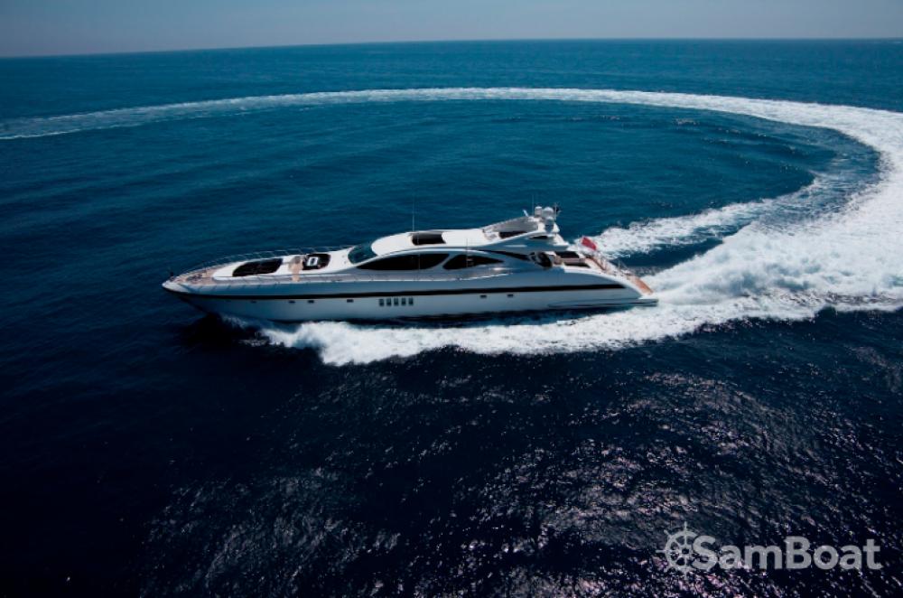 Vermietung Yachten Mangusta mit Führerschein
