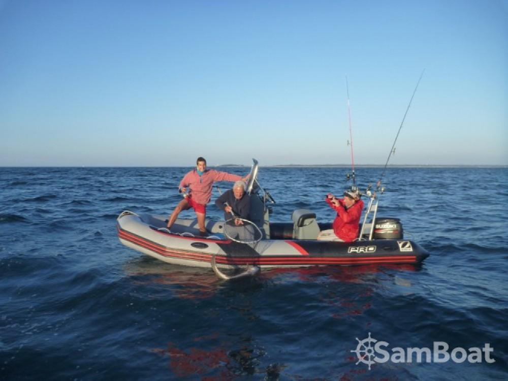 Schlauchboot mieten in L'Île-d'Yeu - Zodiac PRO RACING 5.