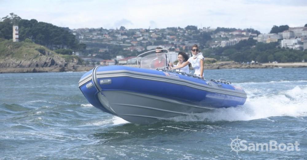 Schlauchboot mit oder ohne Skipper Narwhal mieten in Port du Crouesty