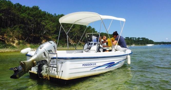 Poseidon 510 Confort zwischen Privatpersonen und professionellem Anbieter Biscarrosse