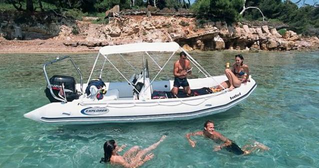Bombard Explorer 550 SB zwischen Privatpersonen und professionellem Anbieter Pointe-Rouge