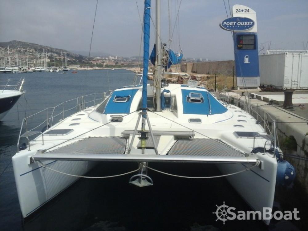 Bootsverleih Marseille günstig catamaran