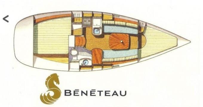Bootsverleih Bénéteau Oceanis 311 DL Arzon Samboat