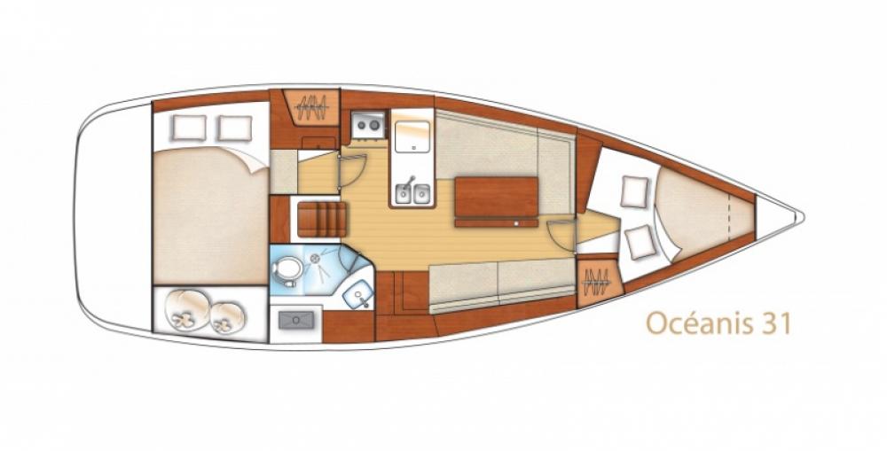 Yacht-Charter in Arzon - Bénéteau Oceanis 31 Dl auf SamBoat