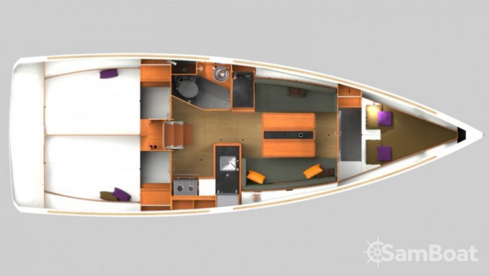 Yacht-Charter in Arzon - Jeanneau Sun Odyssey 349 auf SamBoat