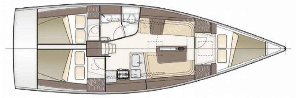 Bootsverleih Delher 38 Arzon Samboat