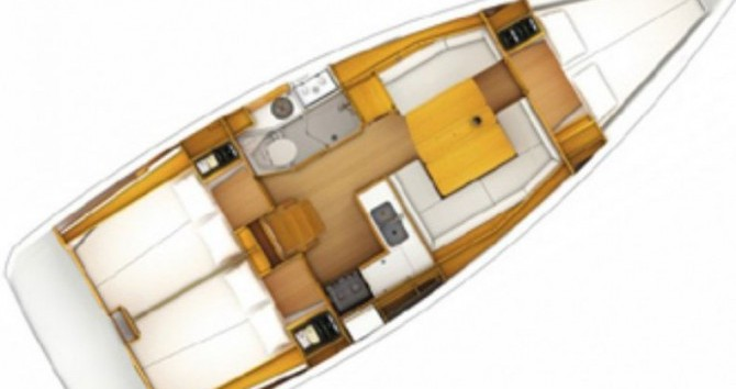 Jeanneau Sun Odyssey 379 Dl zwischen Privatpersonen und professionellem Anbieter Port du Crouesty