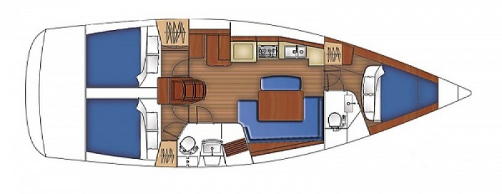 Yacht-Charter in Arzon - VanDutch VanDutch 40 auf SamBoat