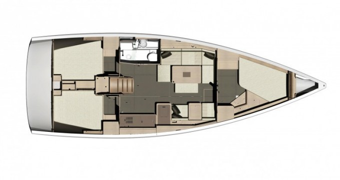 Segelboot mieten in Arzon - Dufour Dufour 410