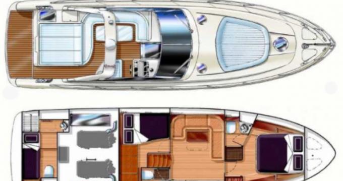 Vermietung Motorboot Gianetti mit Führerschein